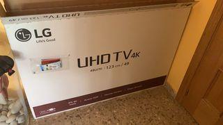 Tv LG UHD 4K 49 pulgadas 49UJ70