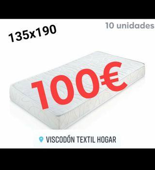 colchón oferta 135x190 100€