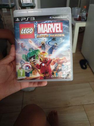 Lego marvel súper héroes ps3