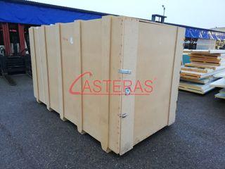 Cajas de madera para transporte CASTERAS