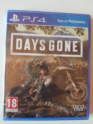 Days Gone PS4 PRECINTADO