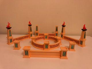 Playmobil columnas y muros romanos