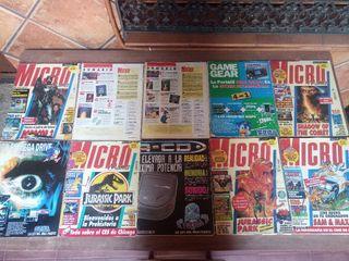 Colección de revistas Micromania