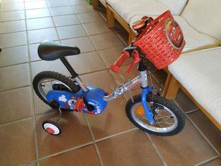 Bici BTwin de niño