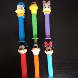 Dispensadores Pez ( Disney Famosos)