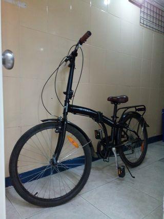bicicleta plegable un solo uso