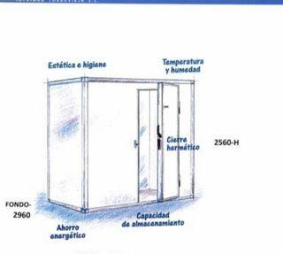 cámara frigorífico industrial