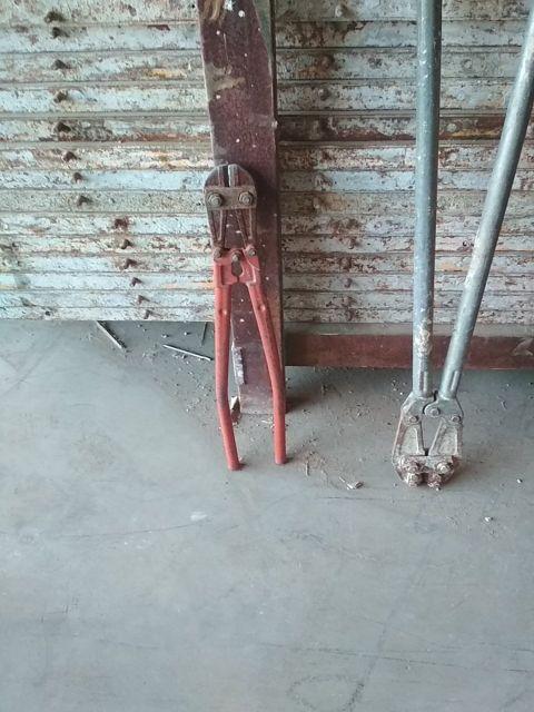 cizallas tijeras para cortar hierro