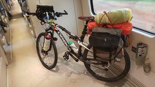 Bicicleta ORBEA doble suspensión