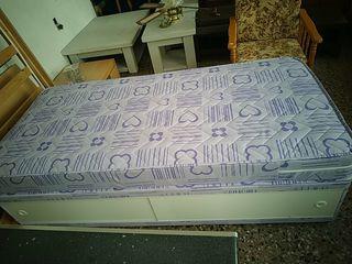 Canapé y colchón