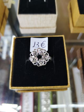 anillo plata nuevo