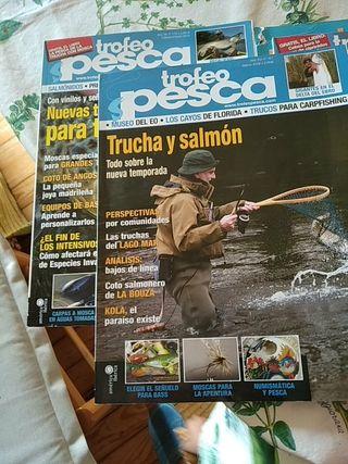 revistas trofeo pesca