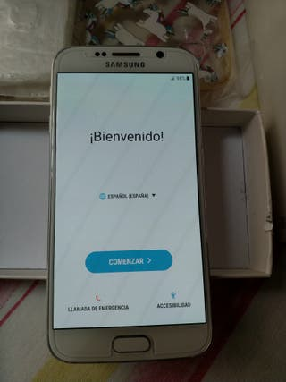 tlf movil S6 blanco
