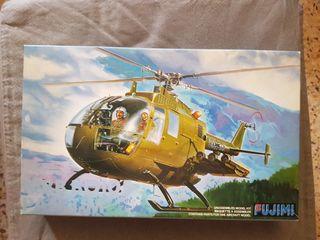 Maqueta avion, helicoptero PAH. 1/M MBB Bo105 1/48