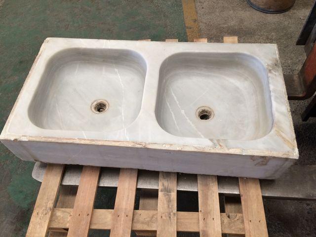 Fregadero pica de marmol