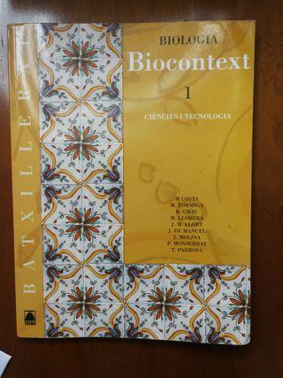 libro biología Batxillerato