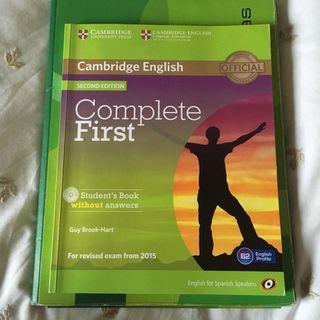 Libro de Cambridge English