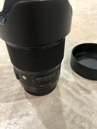 Sigma 20mm 1.4f