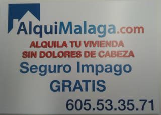 ALQUILA TRANQUILO, ALQUI MÁLAGA RESPONDE