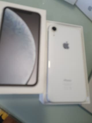 iPhone XR 64gb blanco impecable