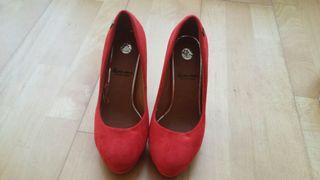 a73a63ed Zapatos de tacón de fiesta de segunda mano en Girona en WALLAPOP