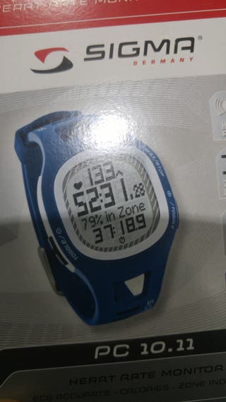 Reloj pulsometro digital sigma nuevo