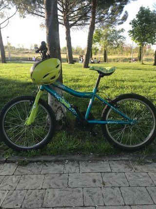 """Bicicleta Junior niña 22"""""""