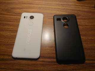 "LG Nexus 5X H791 (5.2"") White + Funda negra regalo"