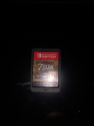 The legend of Zelda breath of the wild (NTD Switch