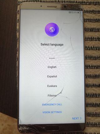Huawei mate 10 pantalla rota