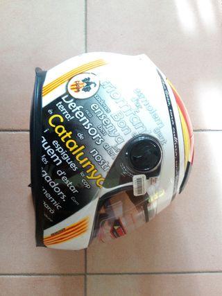 Casc Clam Independentista | Cafemotoracer