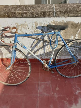bicicleta de carreras orbea antigua