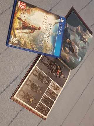 Assassins Creed Odysey y Libro de Arte