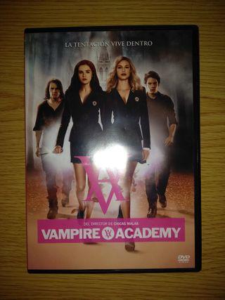 Vampire Academy en DVD.