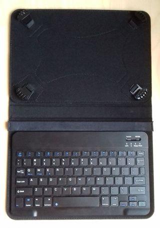 """Funda con teclado Bluetooth para tablet de 10.1"""""""
