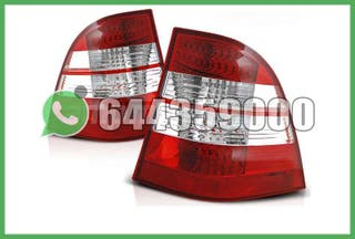 PILOTOS CLAROS LED ROJO/CROMO W163 98-05