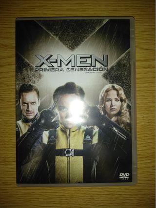X-Men: Primera Generación en DVD.