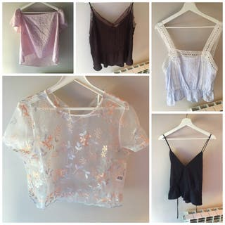 Lote blusas chica