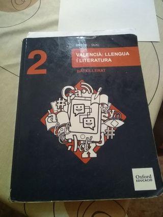 libro valenciano 2o bachiller oxford