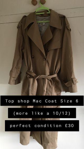 Topshop Mac Jacket