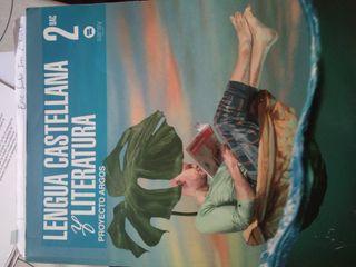 libro castellano 2o Bachiller