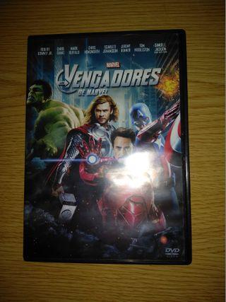 Los Vengadores en DVD.