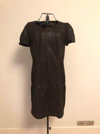 Vestido marrón de Trucco - Talla 38 - Buen estado