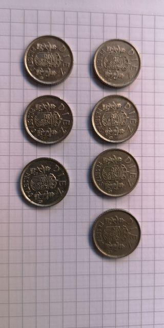 Monedas 10 céntimos 1984