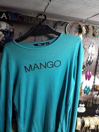 camiseta mango talla XL.