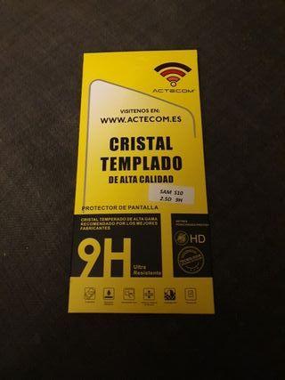 Cristal templado Samsung Galaxy S10