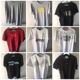 Lote camisetas chico