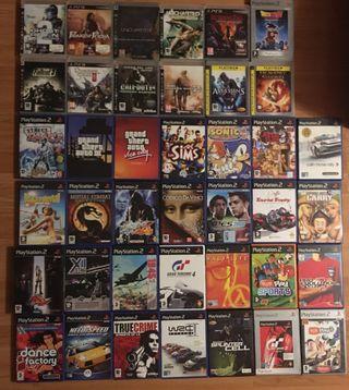 Lote de Juegos PS3 y PS2