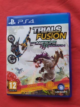 juego PS4 trials fusión usado una vez