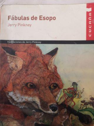 libro lectura fábulas de isopo